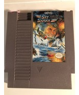 Nintendo NES Video Game Sky Shark Cleaned  & Tested Free Ship Authentic - $8.49