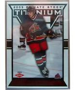 2002-03 TITANIUM RED #111 RICK NASH/299 - $25.13