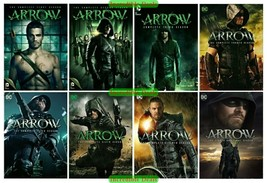 Arrow Complete Series Collection Season 1 2 3 4 5 6 7 8 DVD Set New Sealed 1-8 - $74.00