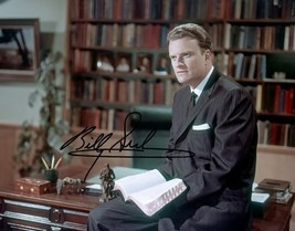 Reverend Billy Graham Signed Photo 8X10 Rp Autographed Picture ** - $19.99