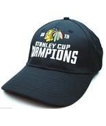 Chicago Blackhawks - 2013 Stanley Cup Champions Hockey Cap Hat - OSFM - ... - $17.09