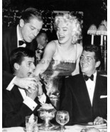 MARILYN MONROE, DEAN MARTIN, JERRY LEWIS AND MILTON BERLE - 8X10 PHOTO - $14.00
