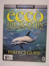 Official Ecco the Dolphin: Defender of the Future Perfect Guide Dreamcas... - $29.49