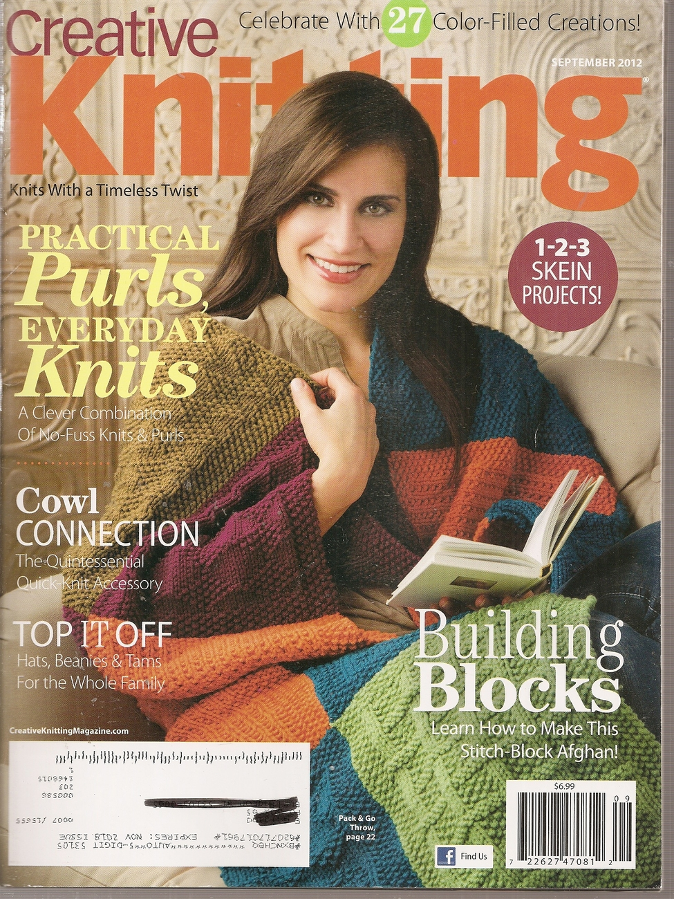 Primary image for CREATIVE KNITTING  SEPTEMBER 2012