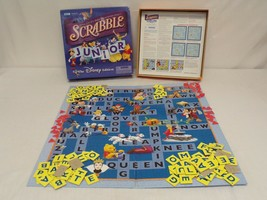 ORIGINAL Vintage Parker Brothers Scrabble Junior Disney Edition Game - $23.12