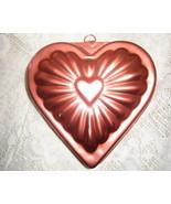 Aluminum  Copper Color Heart Mold-Mirro MFG -USA - $7.00