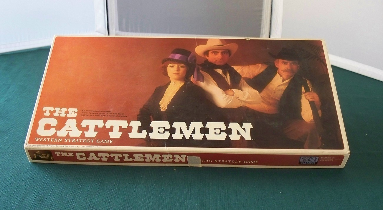 Primary image for The Cattlemen A Western Strategy Game 1977 Complete VGC