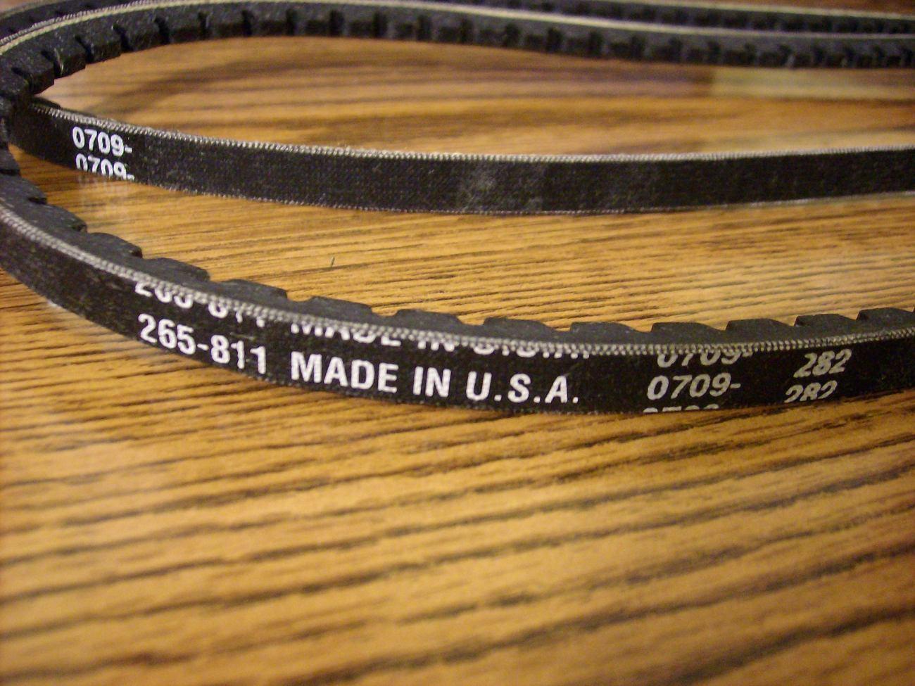 MTD Auger Drive Belts Set, 754-0430, 754-0430A, 954-0356, 754-0356, snowblower