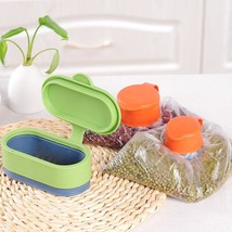 Sealing Bag Cap Silicone Food Clip Cover Storage Magic Buckle Kitchen Ho... - $15.83