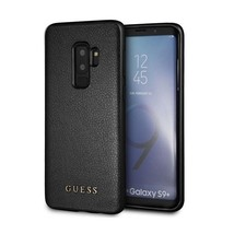 Guess Iridescent Genuine Leather Hard Designer Case for Samsung Galaxy S... - $43.24