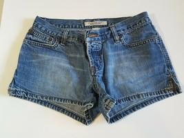 Abercrombie & Fitch Jean Shorts Blue Denim Low Cut Summer Clothes Women'... - $14.84