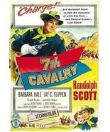 7TH CAVALRY   RANDOLPH SCOTT WESTERN   ALL REGION DVD   FREE LOCAL POST - $16.90