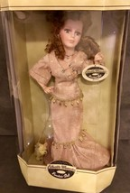 Bisque Porcelain Doll Handcrafted Display Stand Vintage Authentic Collec... - $74.24