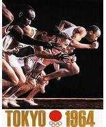 1964 - Summer Olympics - Tokyo - Promotional Advertising Poster - $9.99+
