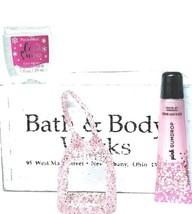 Bath and Body Works  PINK GUMDROP  Shimmer Lip Gloss, Pocketbac & Pink H... - $21.29