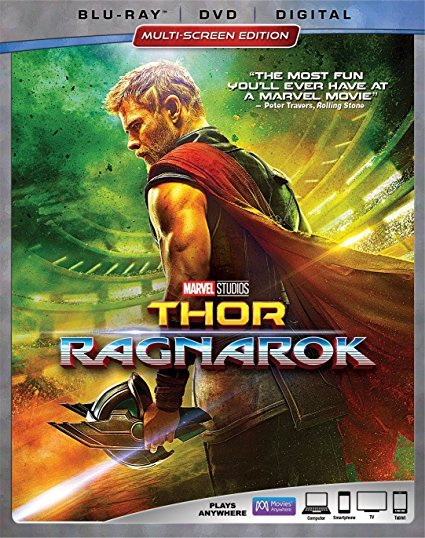 Thor Ragnarok [Blu-ray+DVD+Digital, 2018]