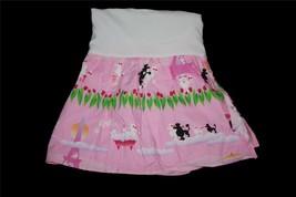 Room Magic Bright Pink Paris Ooh La La Poodles Eiffel Tower Crib Bedskirt New - $29.99