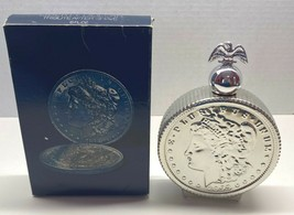 Avon Silver Liberty Head Dollar Bottle Tribute After Shave in Box 6 Oz. ... - $8.95