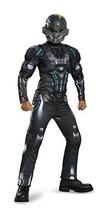 Spartan Locke Classic Muscle Halo Microsoft Costume, X-Large/14-16 - £12.84 GBP