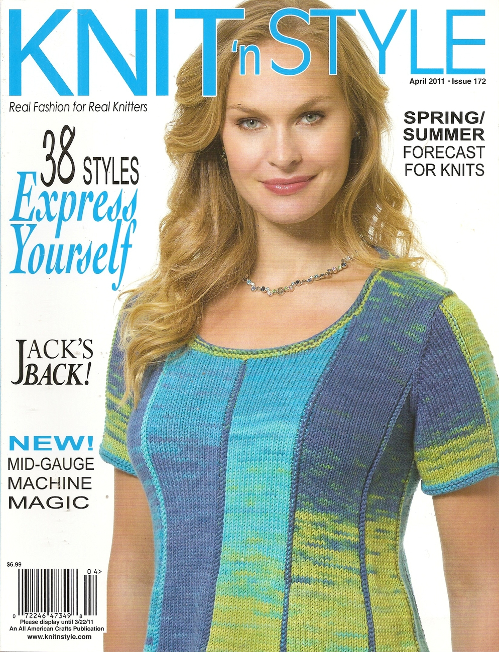 Primary image for KNIT N STYLE APRIL 2011