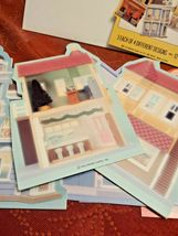 Hallmark Nostalgic Houses Hall Bro's Cards and Gifts Tin shop cards collection  image 5