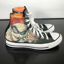 "Converse All Star ""HARLEY QUINN"" Chuck Taylor High Tops, Women's Sz 7  C... - $23.76"