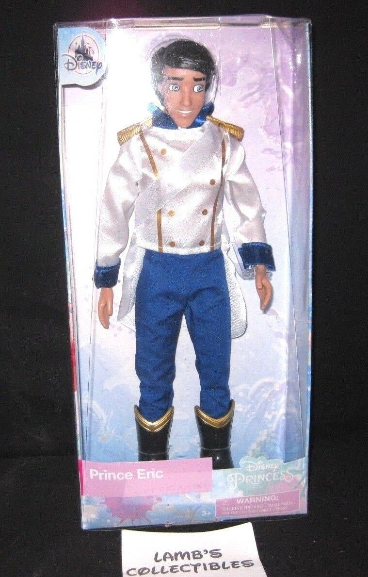 "Primary image for Disney Store Prince Eric 11.5"" classic doll wedding Disney Store Authentic toy"