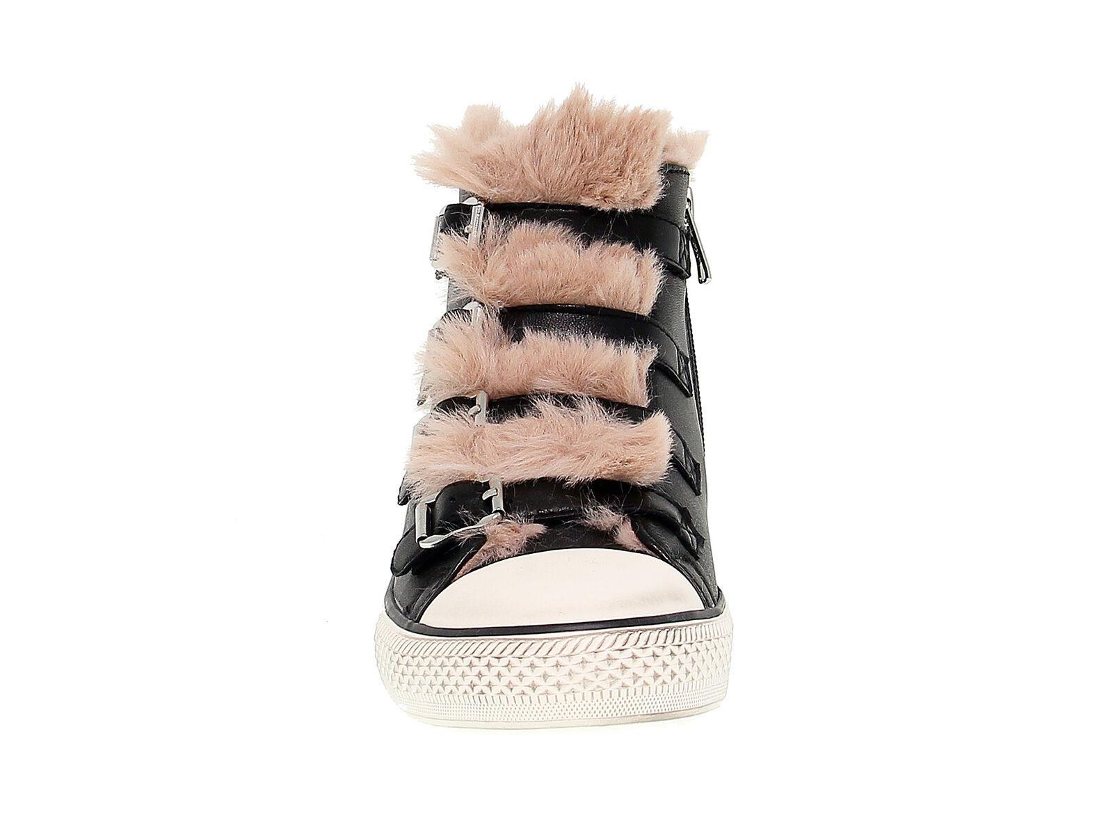 Sneakers ASH VALKO in nappa nero - Scarpe Donna