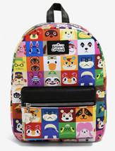 Nintendo Bioworld Animal Crossing Character Grid Mini Backpack Bag - $78.70