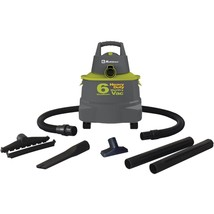 Koblenz(R) WD-6K Wet/Dry Vacuum Cleaner with 6-Gallon Tank - $192.31