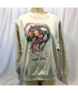 Vintage Heart Song Jan Taylor Sweatshirt True Vintage 1980's Size L made... - $38.60