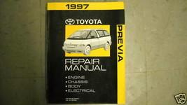 1997 Toyota Previa Furgoneta Servicio Tienda Reparación Manual OEM Fábrica - $59.29