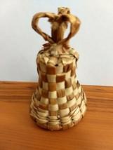 "Basket Weaved Bell 3"" Tall - $3.47"