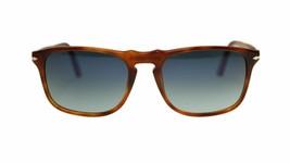Persol Men's Sunglasses PO3059 96/S3 Brown Blue Polarized Square 54mm Au... - $173.63