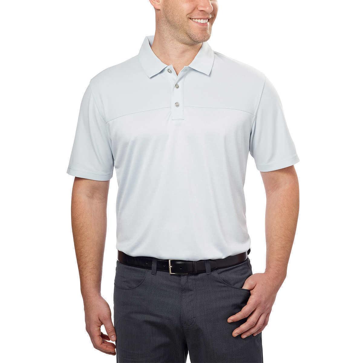 NEW Bollé Men's Color-block Performance Polo - Grey