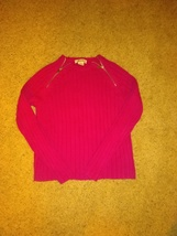 Michael Kors Zippered Front Sweater - $21.99