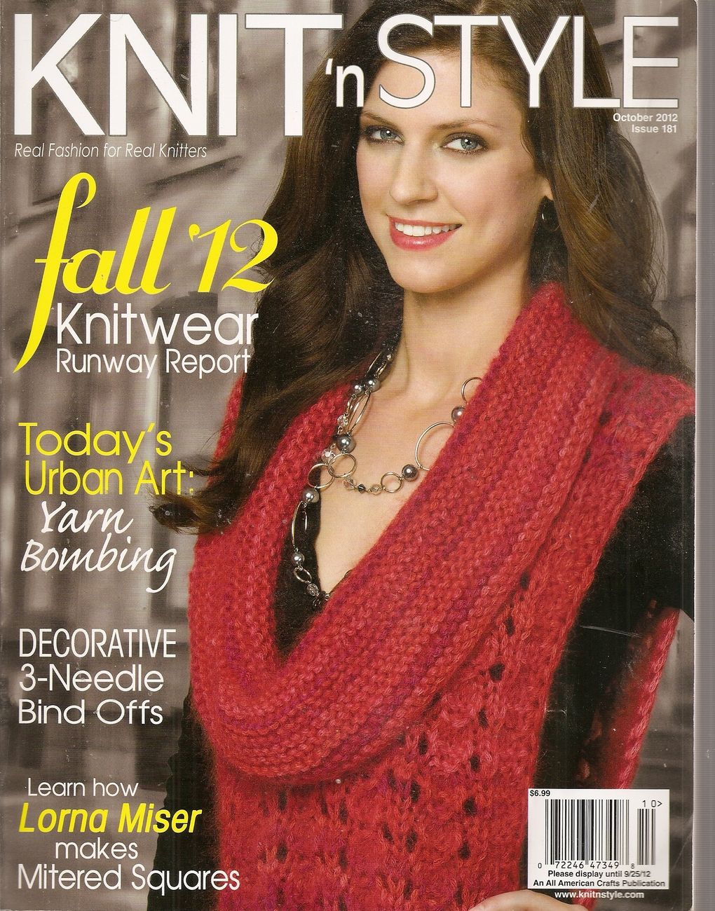 Primary image for KNIT N STYLE OCTOBER 2012