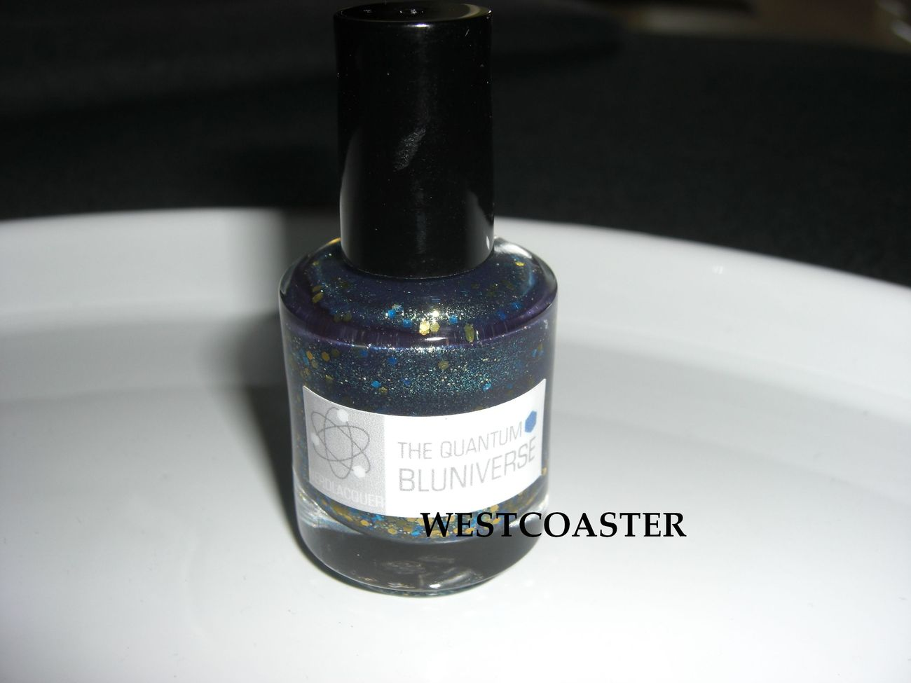 Primary image for NERDLACQUER *The Quantum Bluniverse* indie custom blend glitter nail polish