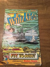 Whiz Kids Comic Book By Tandy Computer Cat. No. 68-2021 - $7.91