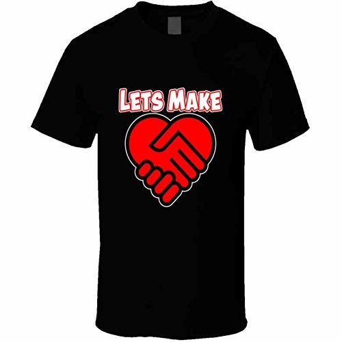 Let Make A Deal in Love T Shirt 6XL Black