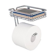 Toilet Paper Holder with Mobile Phone Storage, ... - $26.71