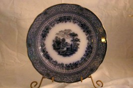 Ridgeways Potteries Of Staffordshire Grecian Flow Blue Dinner Plate - $25.63