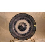 Ridgeways Potteries Of Staffordshire Grecian Flow Blue Dinner Plate - $23.30