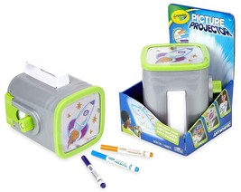 Crayola Picture Projector Night Light Projector Kids Flashlight Gift Age 5+ NIB
