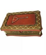 "Vintage REUGE Swiss Music Jewelry Box ""Doctor Zhivago""  Wood Balalaika D... - $42.70"