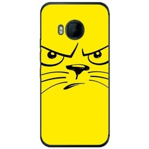 Angry Smiley Cat HTC M9 Phone Case - $15.99