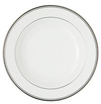 "Waterford Kilbarry Platinum Rim Soup Pasta Bowl 9"" Bone China New - $37.90"