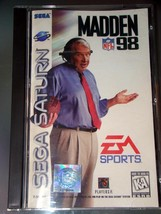 SEGA SATURN - EA SPORTS - MADDEN NFL 98 (Complete with Instructions) - $8.50