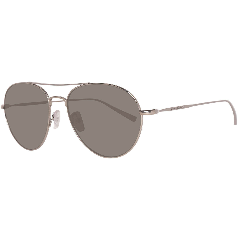Ermenegildo Zegna Herren Sonnenbrille Silber EZ0033 5714D