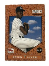 Brien Taylor 1992 Topps Magazine #TM79 New York Yankees MLB Baseball Card - $1.39